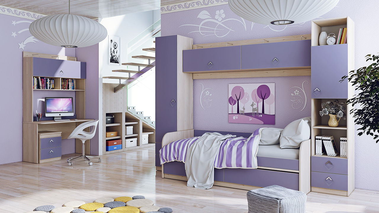 """Набор мебели для детской комнаты 8 """"аватар"""" flash мебель."""